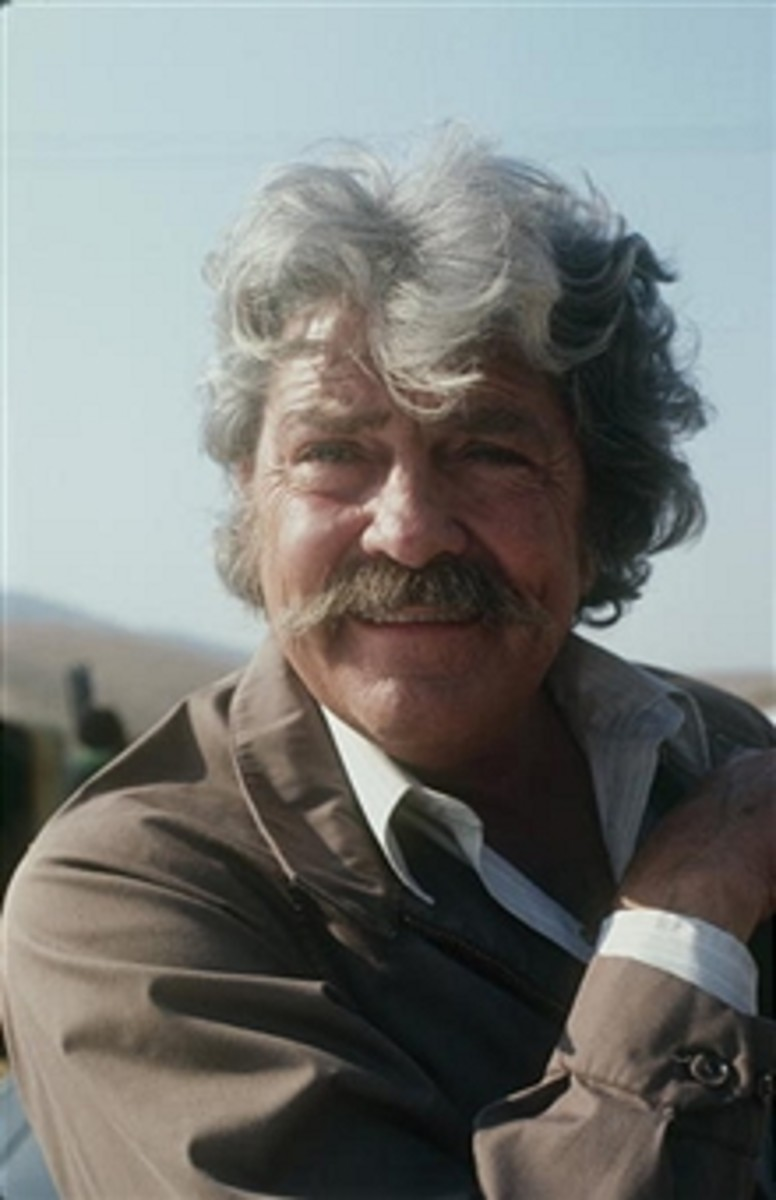 Dale Robertson's last role in 1993 on the series Harts of the West