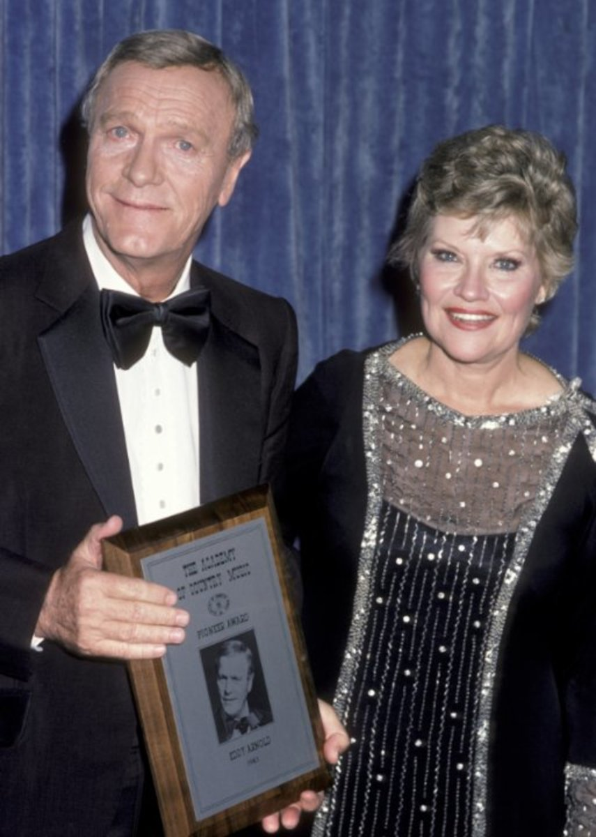 Patti Page with Eddie Arnold at the Country Music Awards in 1984