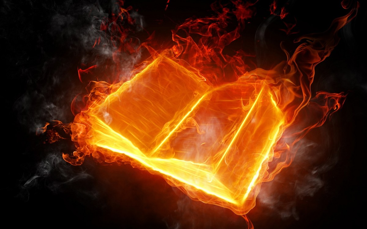 This is an image that comes to mind when powers want to delete history and start the calendar with the start of their era. Books are burned, texts change and photos are changed or enhanced in a bid to rewrite history. The Bible has not been spared.