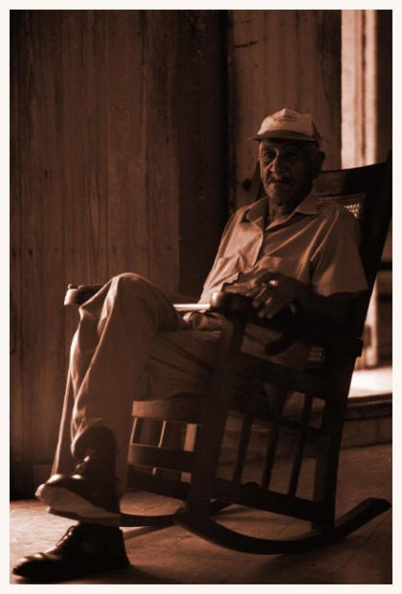 Grandpa's Chair - A Poem of Chilhood Memories
