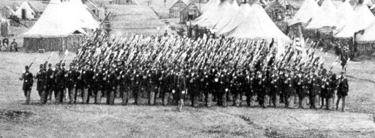 A Regiment at Right Shoulder Shift Arms