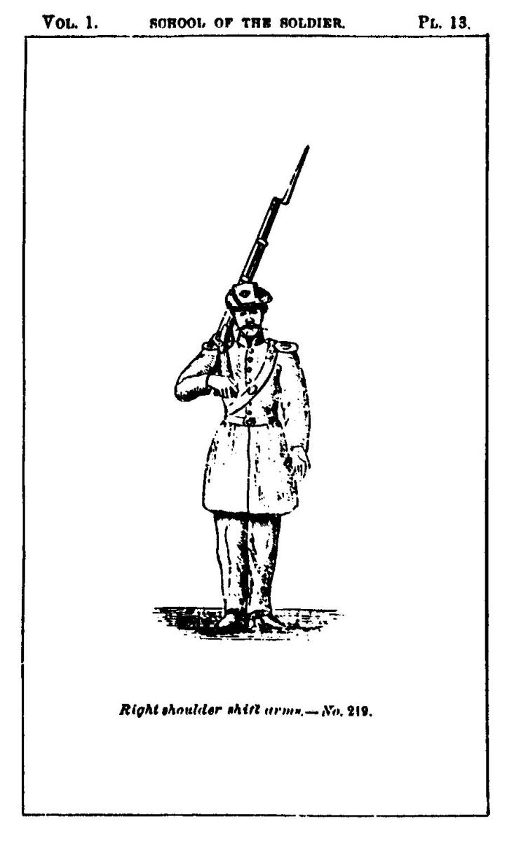 Hardee's Manual - Right Shoulder Shift Arms