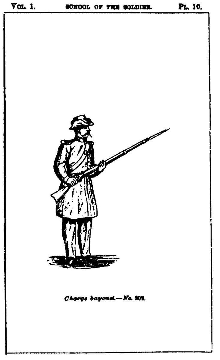 Hardee's Manual - Charge Bayonets