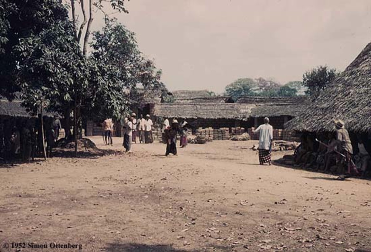 Igbo rural communities are sometimes used as wedding venues
