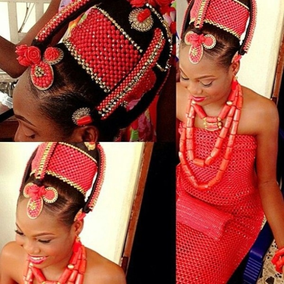 Edo bride from Nigeria