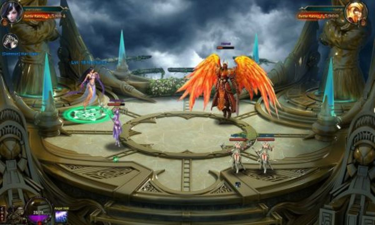 League of Angels Battle