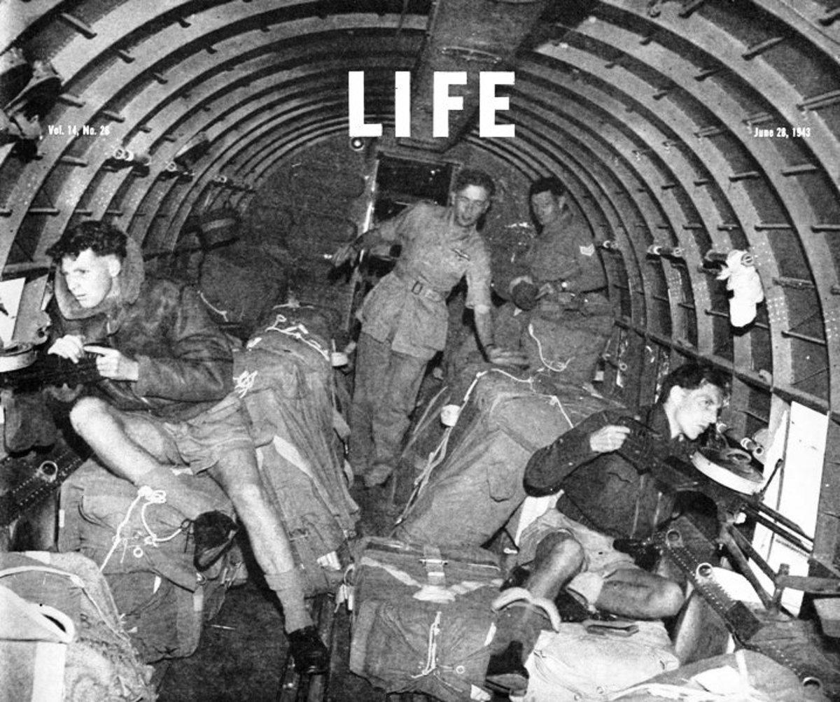 Resupplying the Chindits from RAF C47 Dakotas