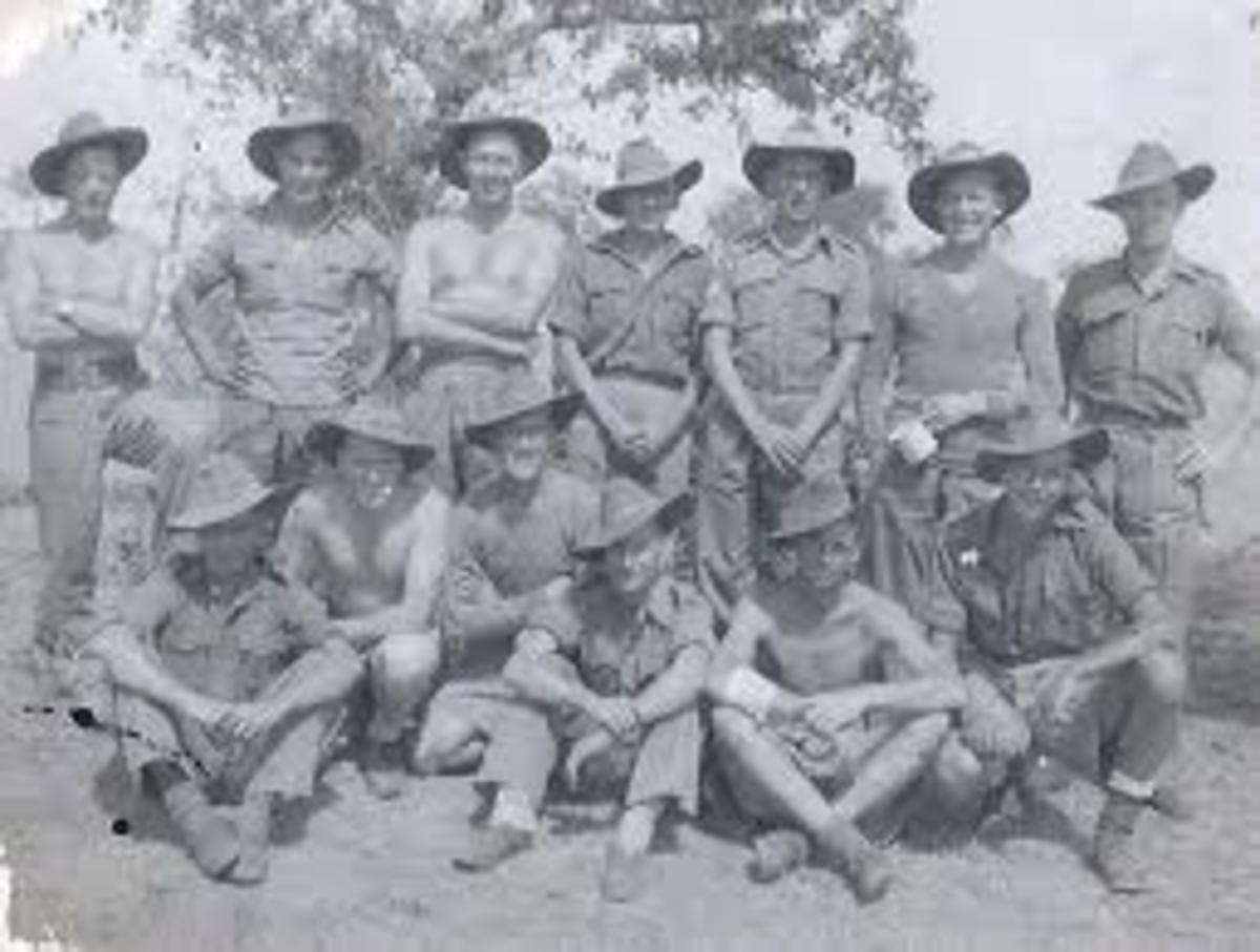 Group of British Chindits