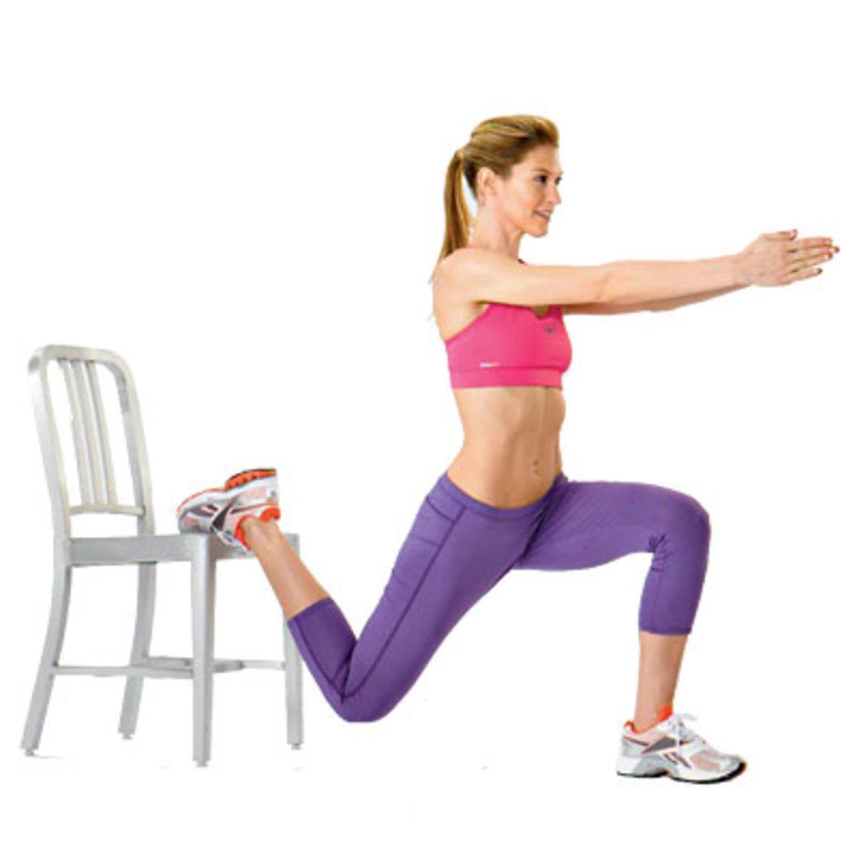 One Leg Squat - Split Squat