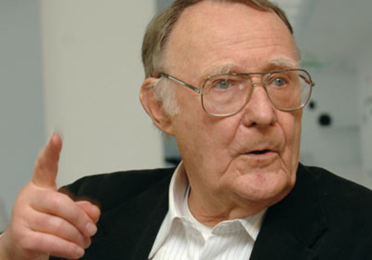 Ingvar Kamprad, 11th richest person in the world, according to Forbes, 2010