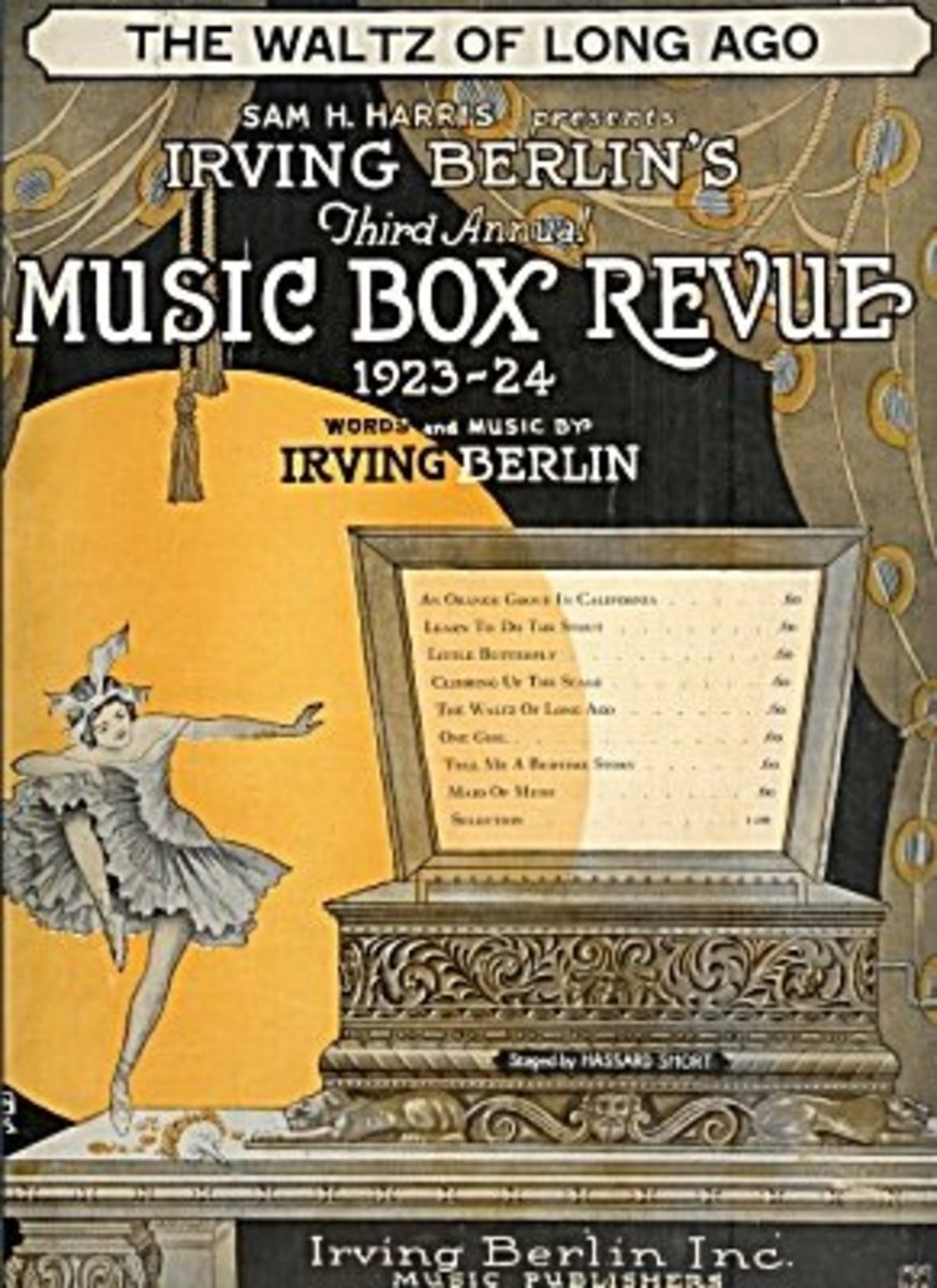 Third annual Music Box Revue 1923-24