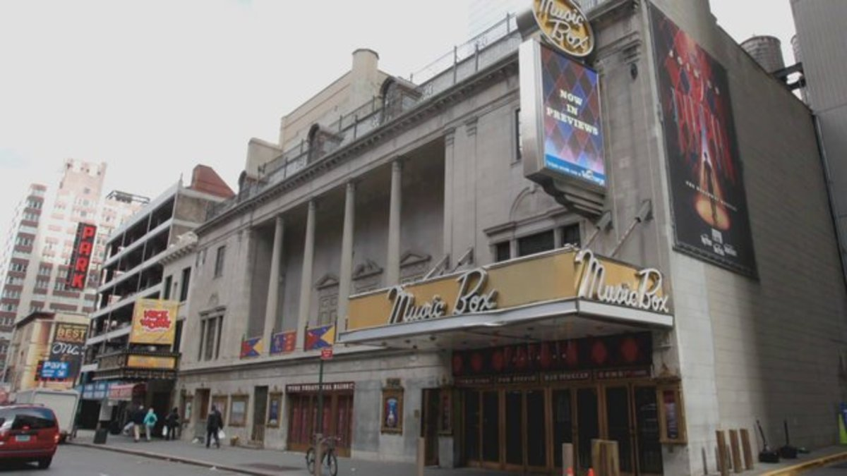 The Music Box theatre, Broadway ( as it is today)