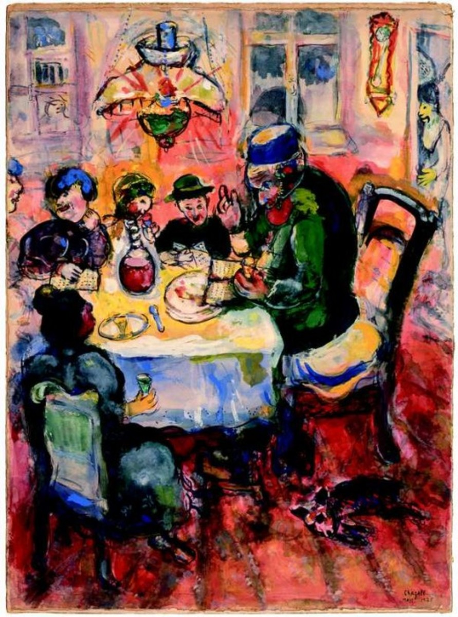 Passover Painting 'The Party'