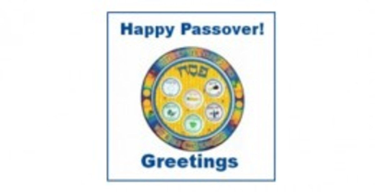 Happy Passover! Greetings