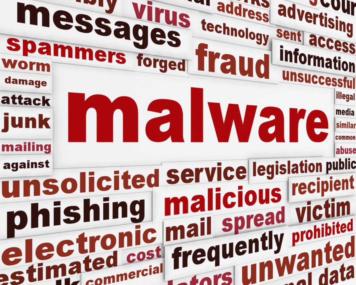 Malware - malicious software