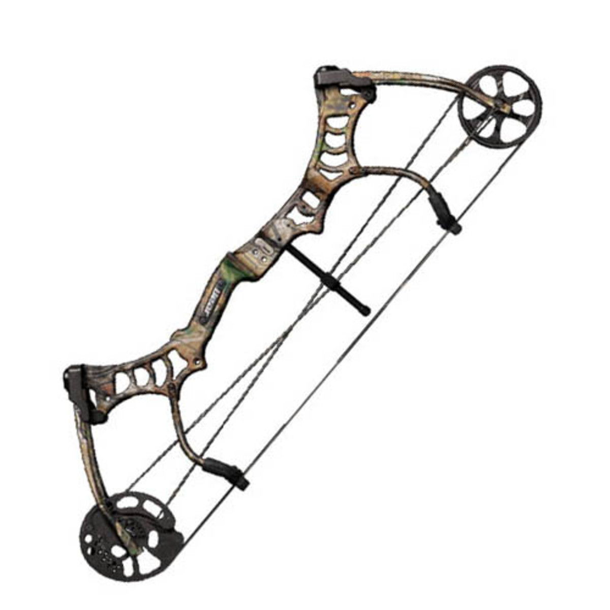 "Speed: 318 fps Weight: 4 lbs Brace Height: 7"" Axle to Axle: 30.5"" Draw Weight: 50 lbs/60 lbs/70 lbs Draw Length: 26"" - 31"" Let-Off: 80% Color: Realtree Camo"
