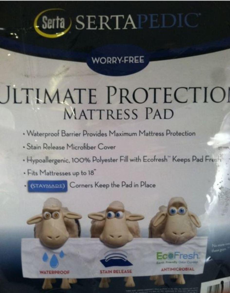 Best Waterproof Mattress Pad Review   Sertapedic Ultimate
