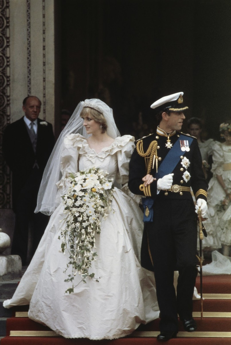 Wedding day July 29, 1981