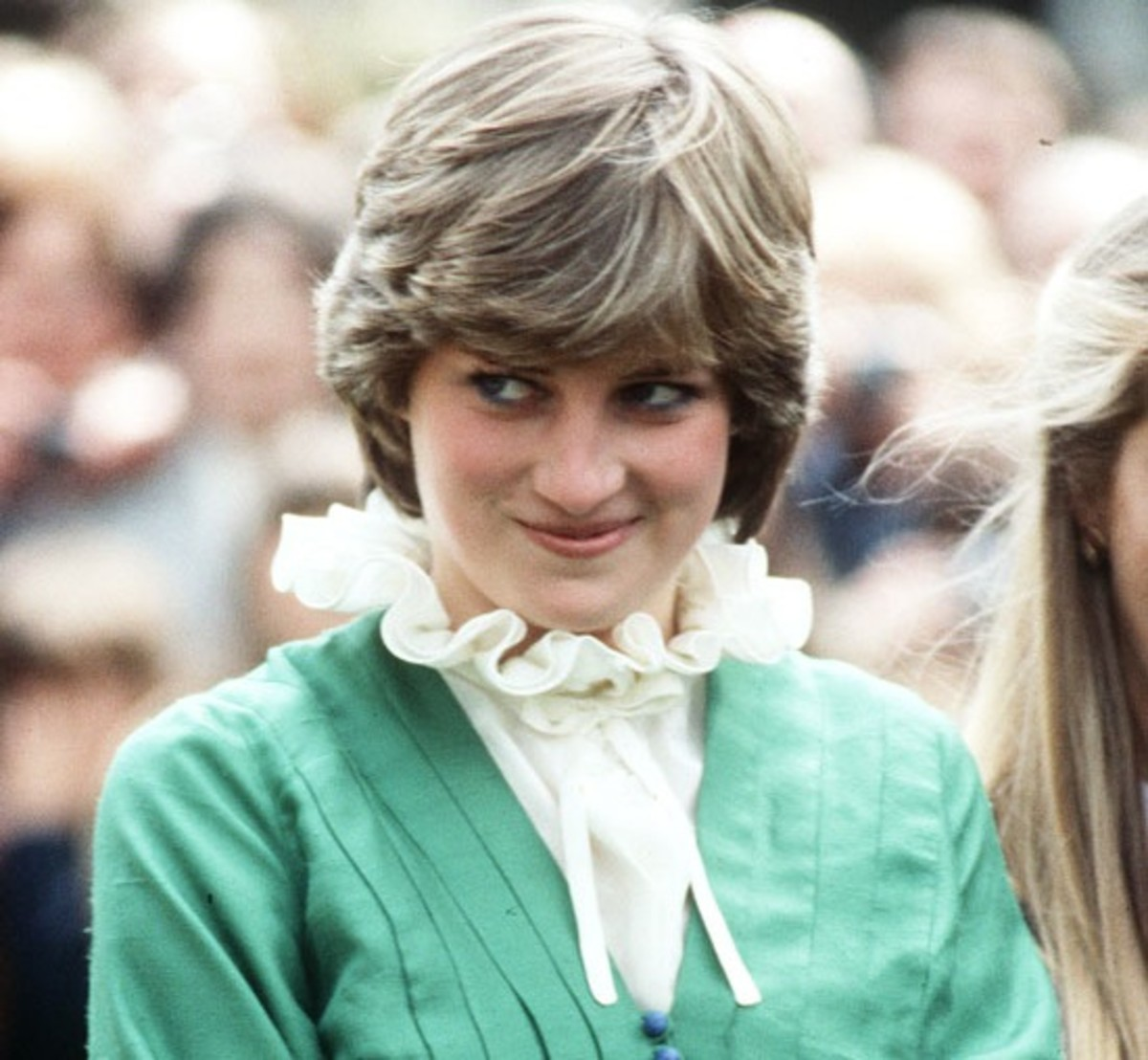 May 9, 1981 - Still Lady Diana Spencer, not yet the Princess of Wales, at Broadlands, UK Image from hdwallpapers