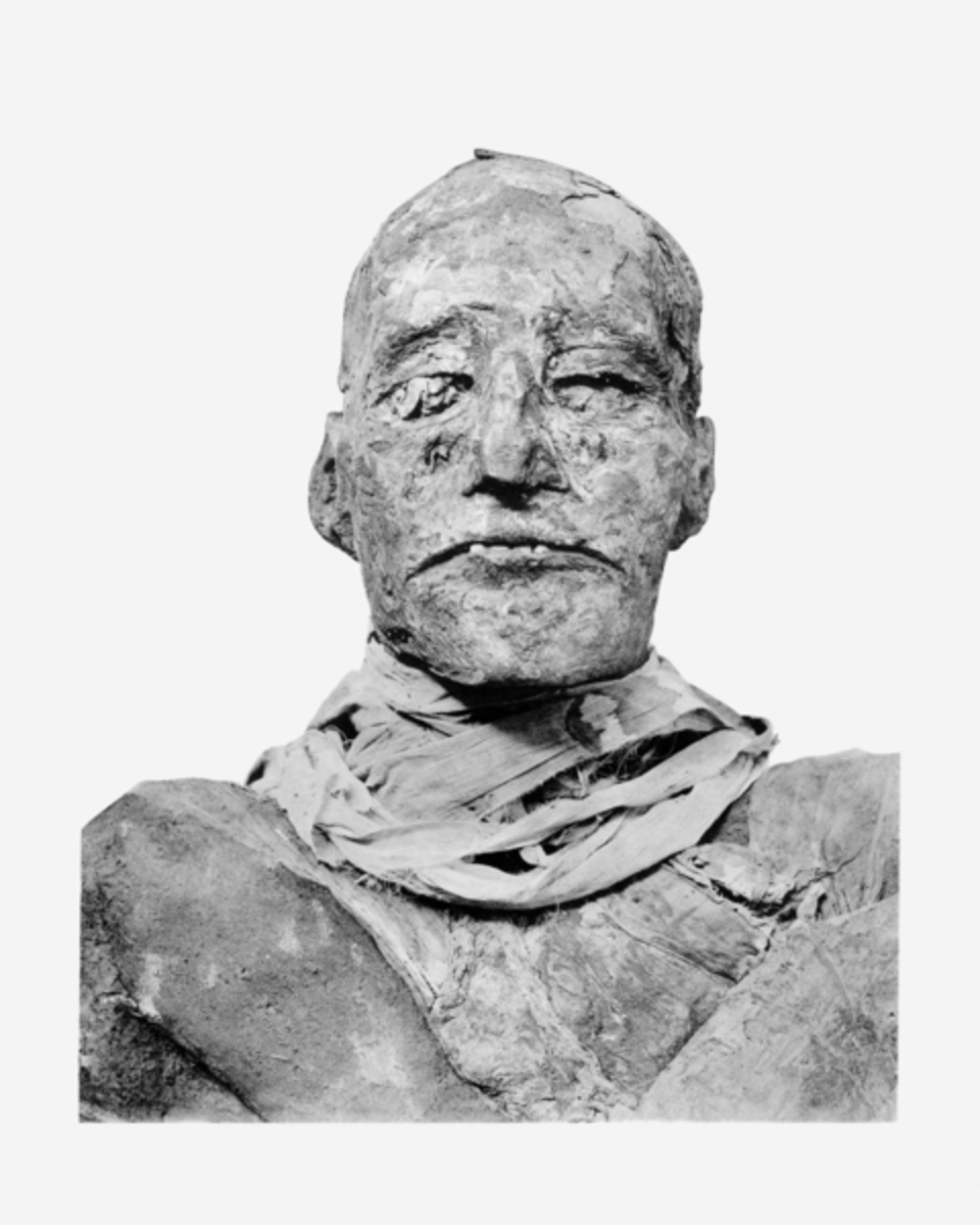 Pharaoh Ramesses III - Ancient Egyptian Harem Conspiracy