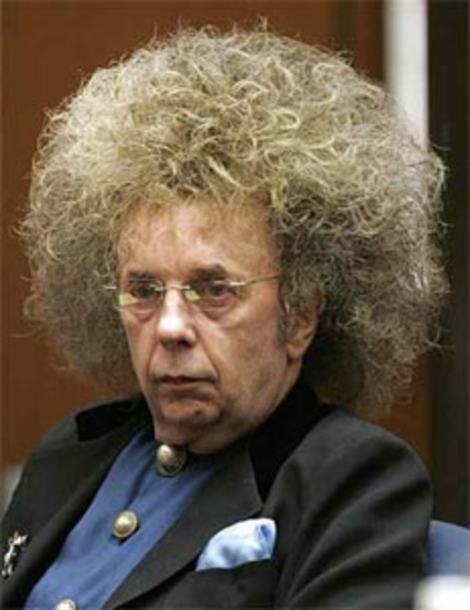 Phil Spector. Looks normal to me!