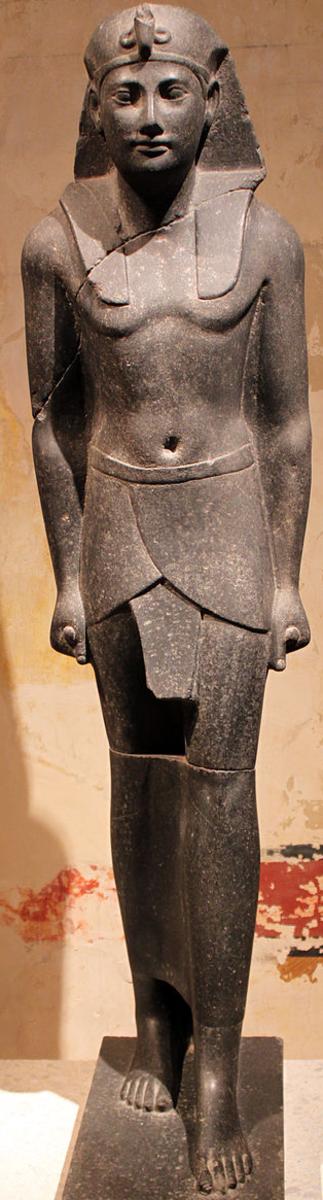 Ptolemy III as Pharaoh
