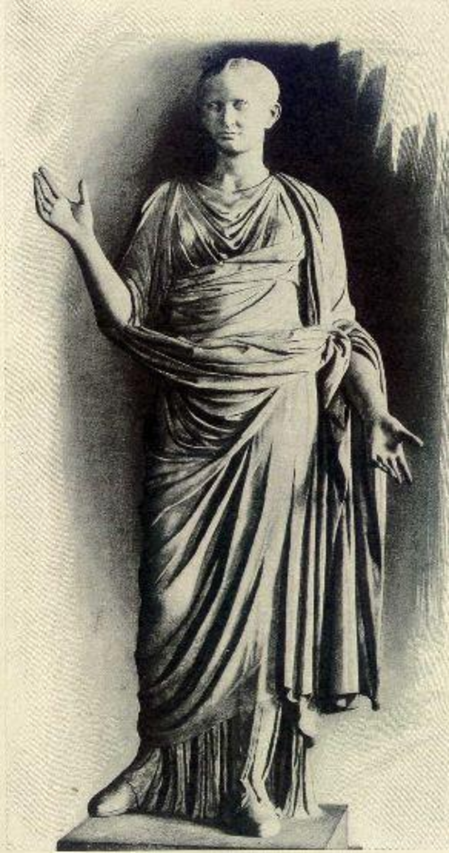 Octavia sister of Octavian and wife of Marc Antony