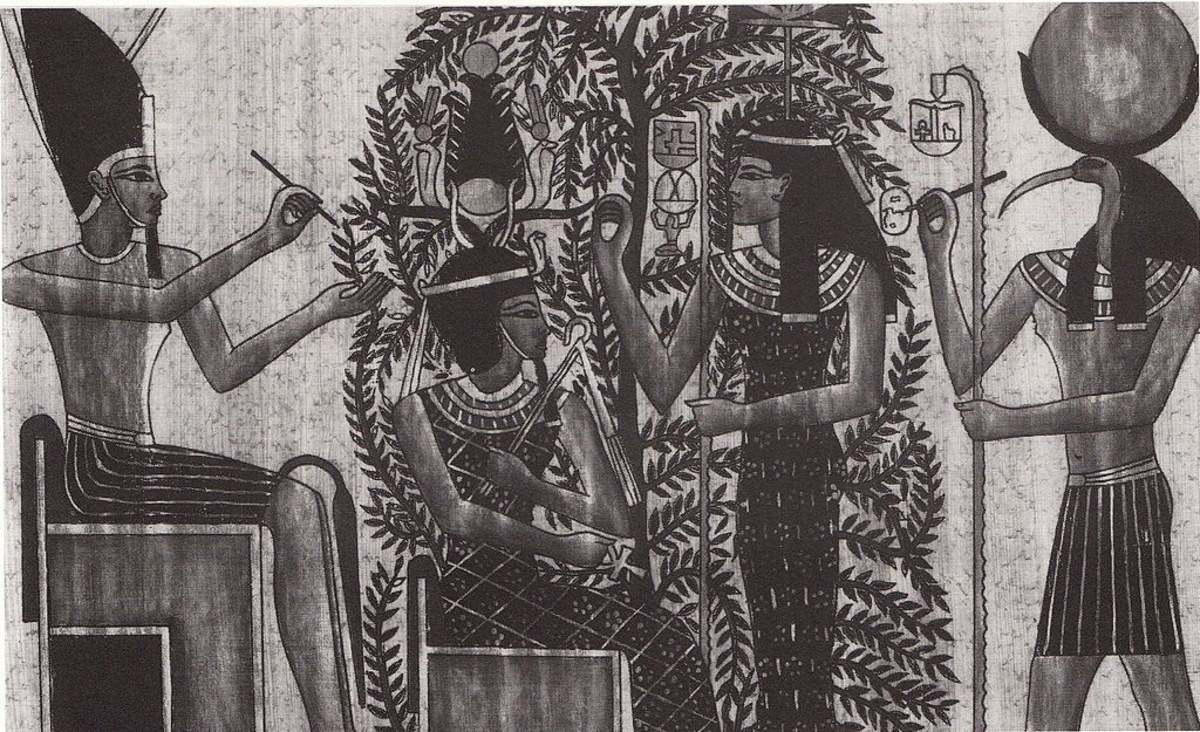 Berenice III and her mother Cleopatra Selene I, her mother