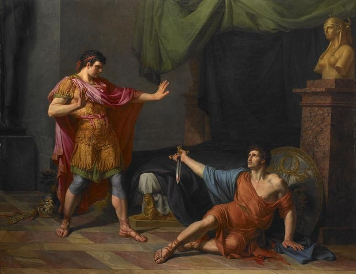 Marc Antony commits suicide