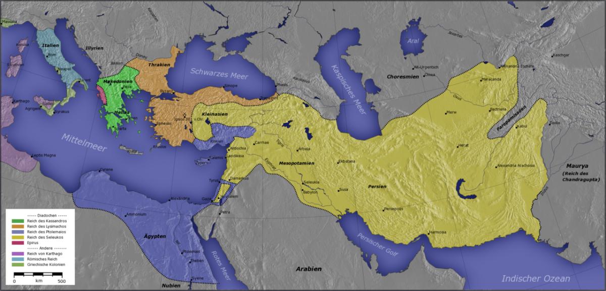 Diadochen Map