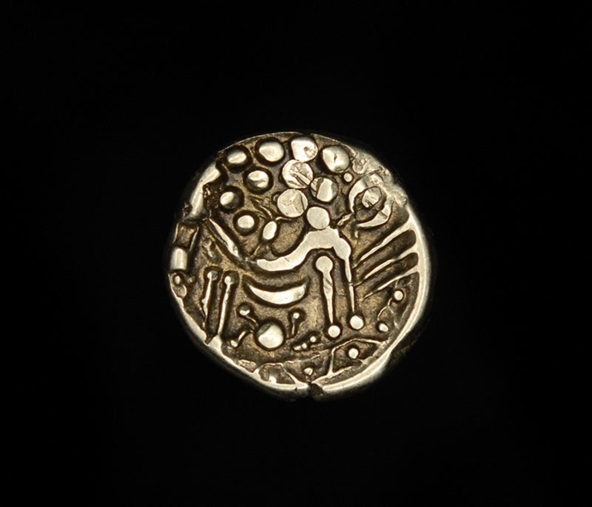 Celtic tribal coin.