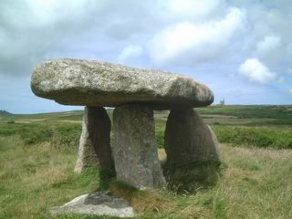 Original Druid altar in England.