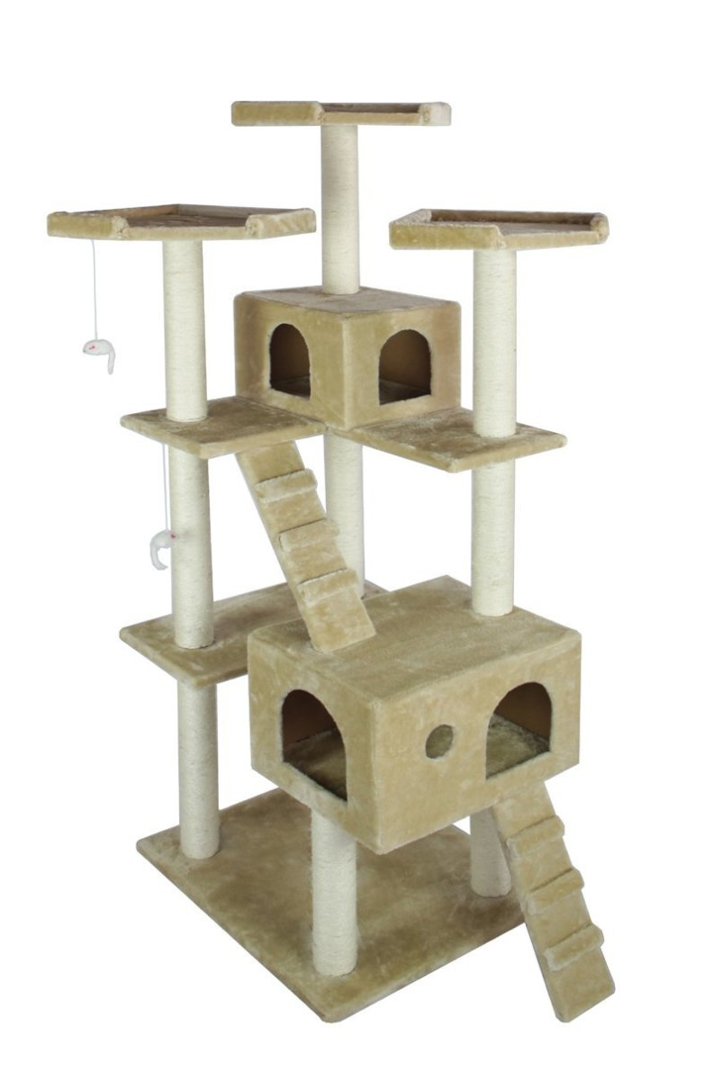 Cat trees reduce unwanted behavior