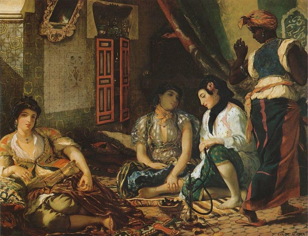 Eugene Delacroix's Angiers
