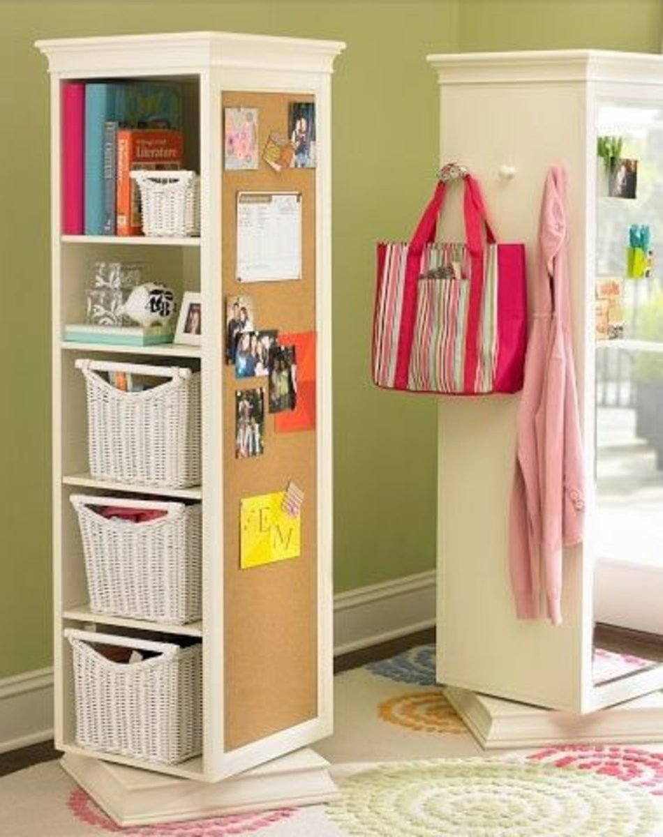 Pivot Wardrobe Storage | Easy Organization Ideas for the Home