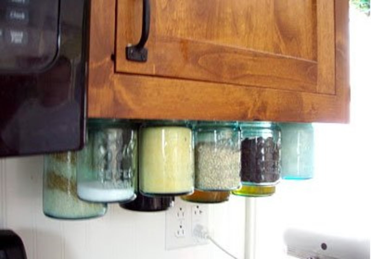 Kitchen Jar Organizers   Easy Organization Ideas for the Home