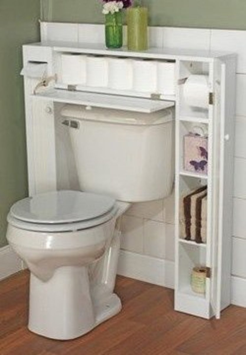 Secret Drawer for Toilet Roll | Easy Organization Ideas for the Home