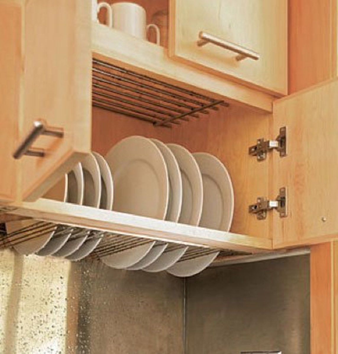 Dish Rack Drainer   Easy Organization Ideas for the Home