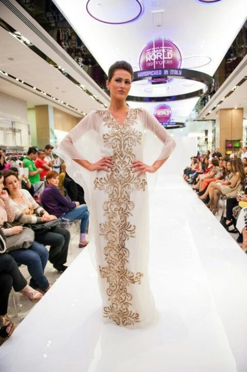 Abaya on the ramp