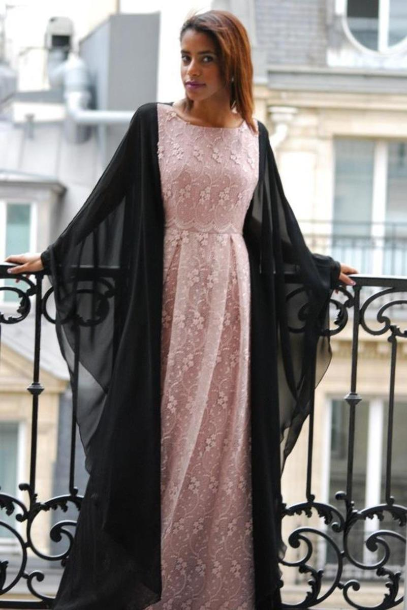 Beautiful Lace Abaya or burqa