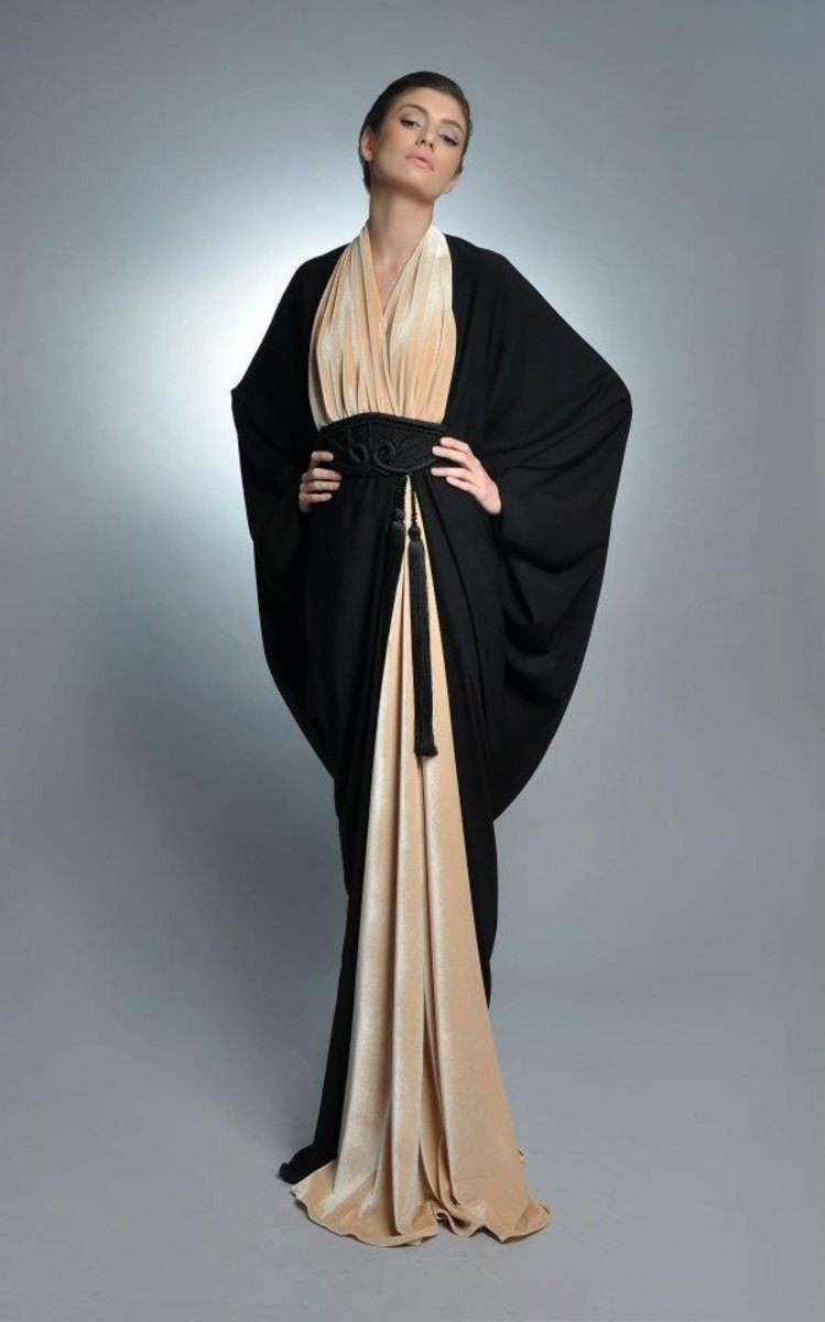 Beautiful silhouette type abaya