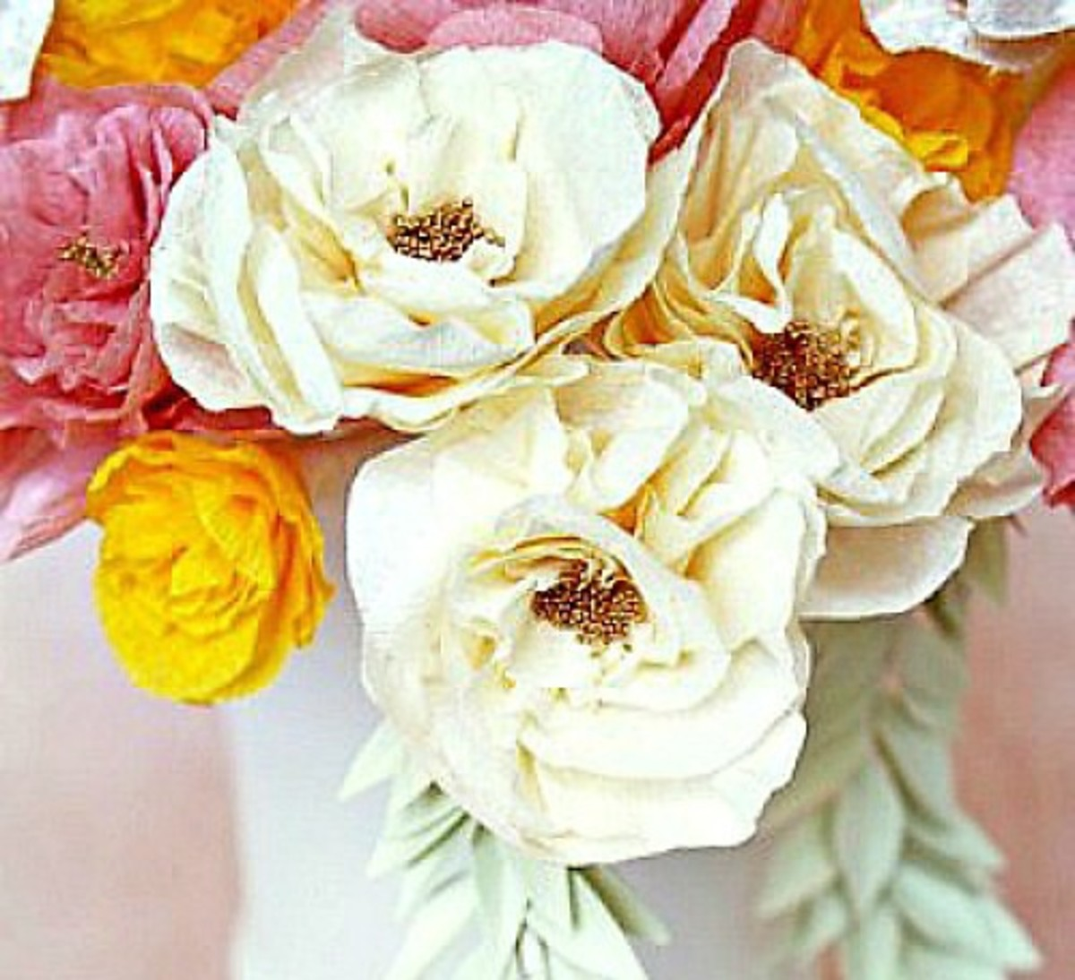 32 Outstanding Crepe Paper Craft Ideas