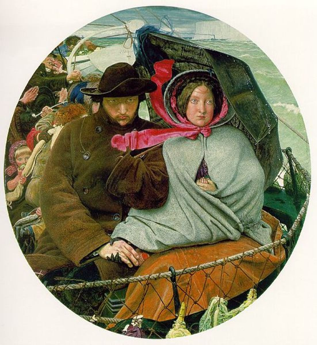 The Last England by Ford Madox Brown (1855)