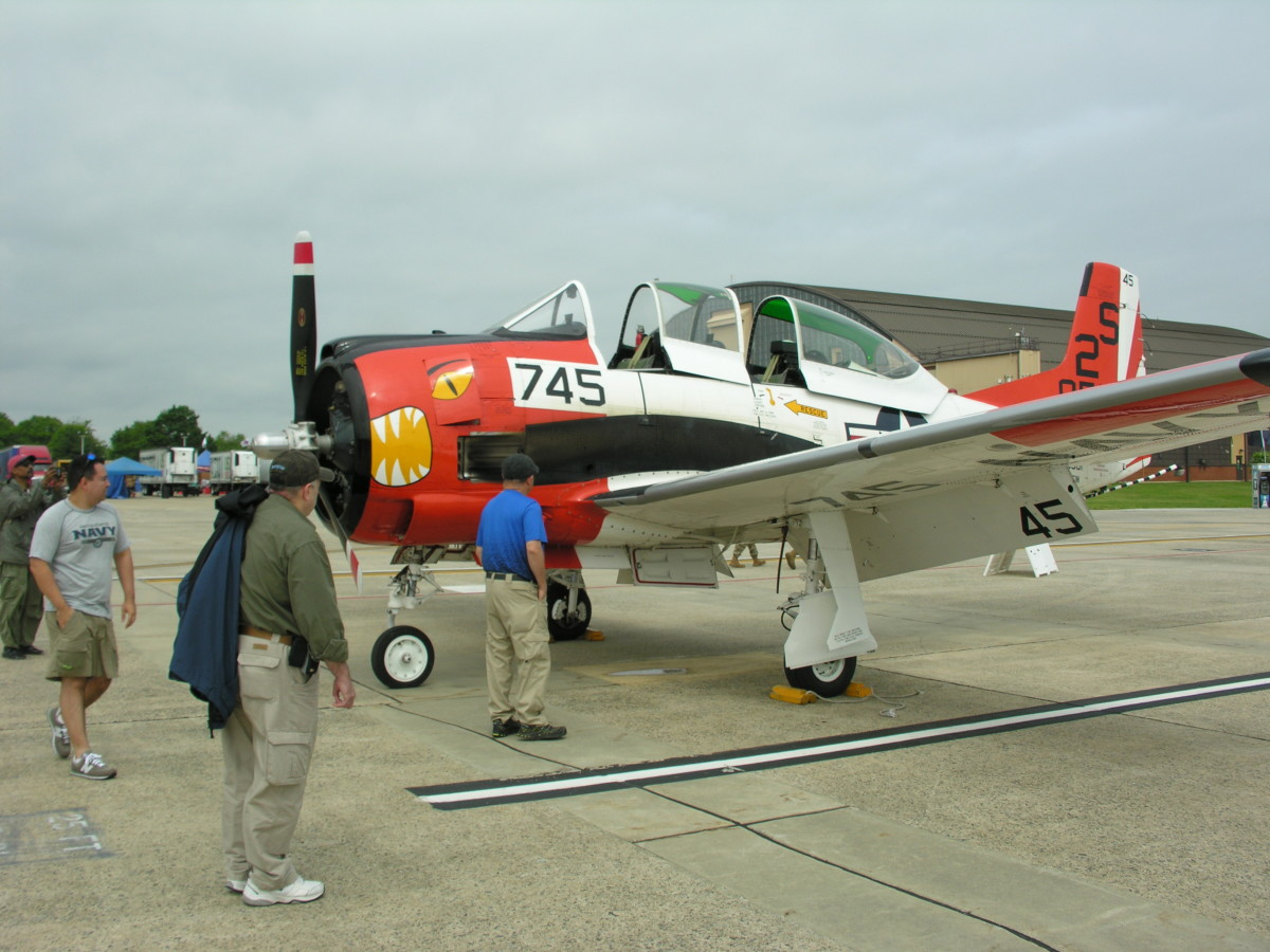 A T-26 Trainer, Andrews AFB, MD, May 11, 2019.