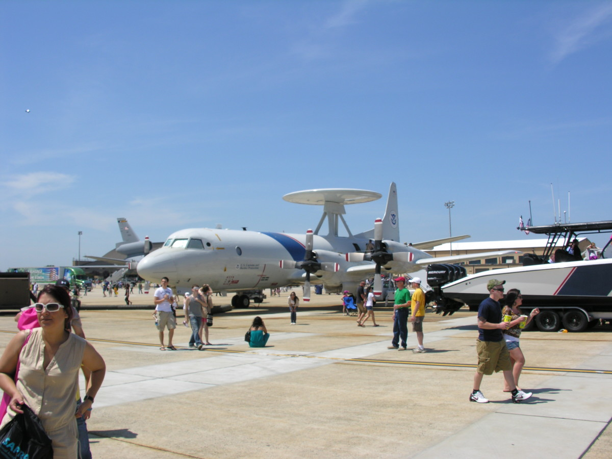 A U.S. Customs and Border Protection, P-3, Andrews AFB Open House, 2012.