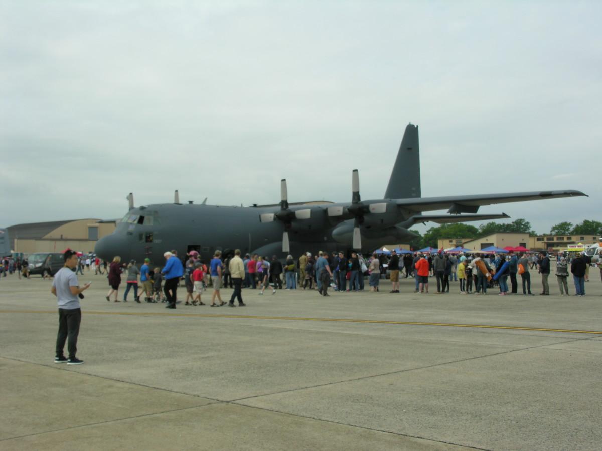 A C-130 Hercules, Joint Base Andrews, May 11, 2019.