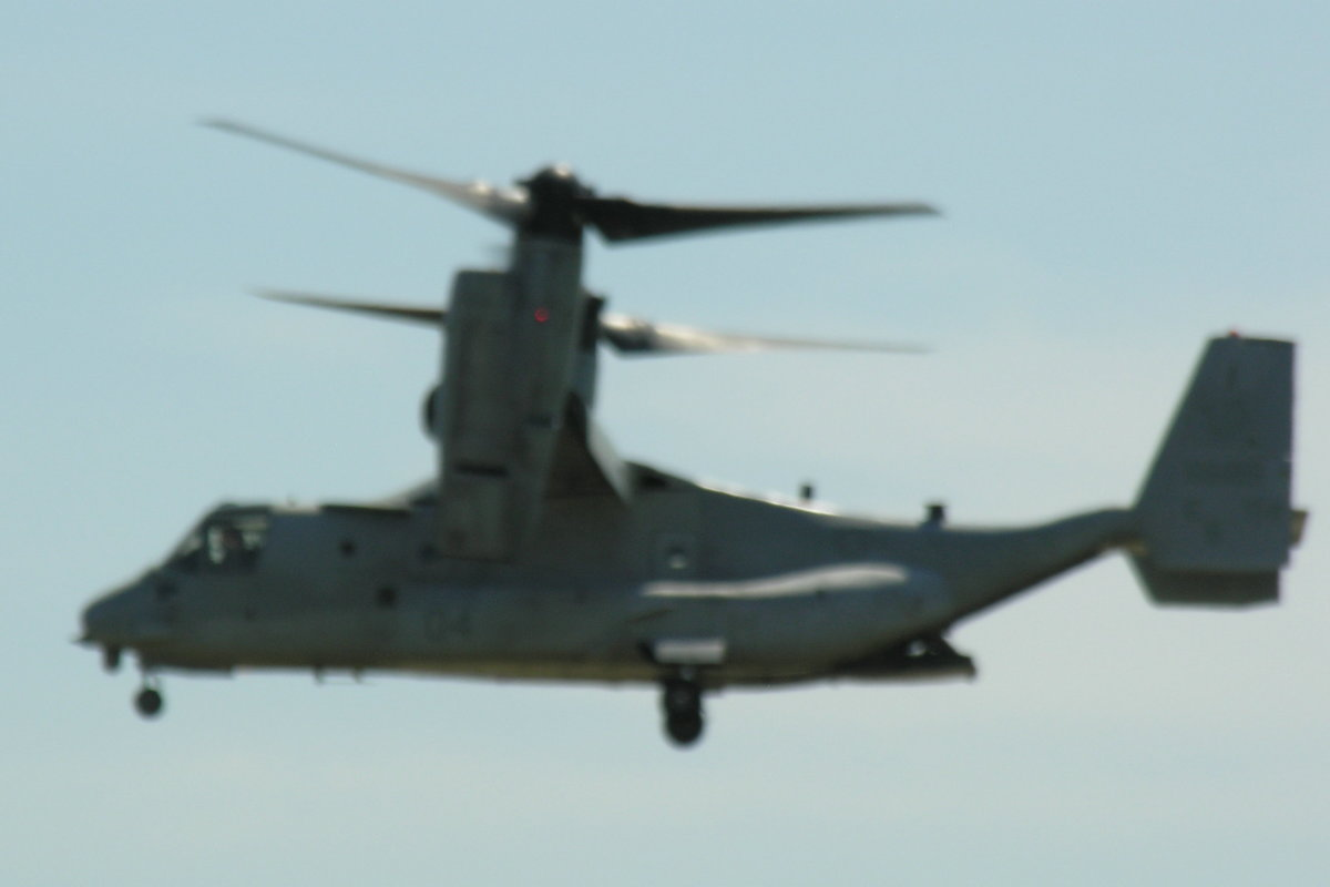 A CV-22 Osprey, Andrews AFB Open House, 2012.