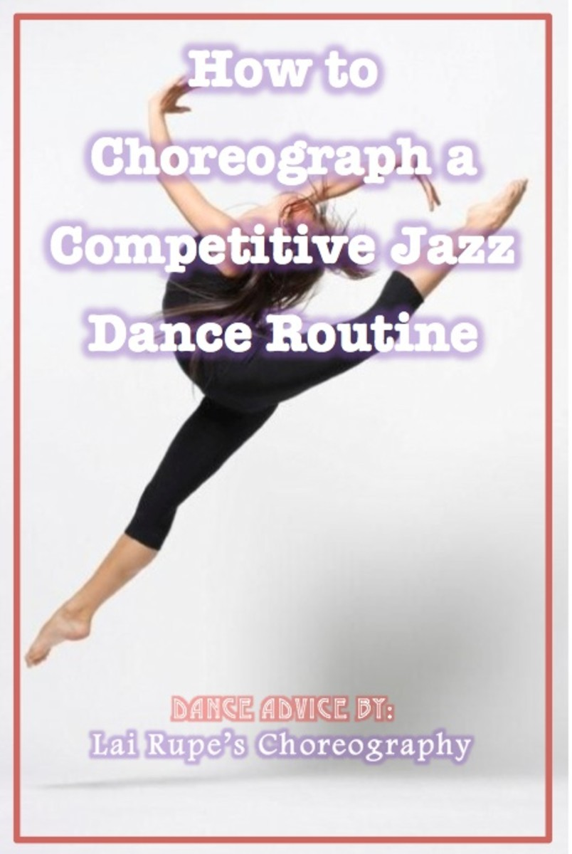 How to Choreograph a Competitive Jazz Dance Routine