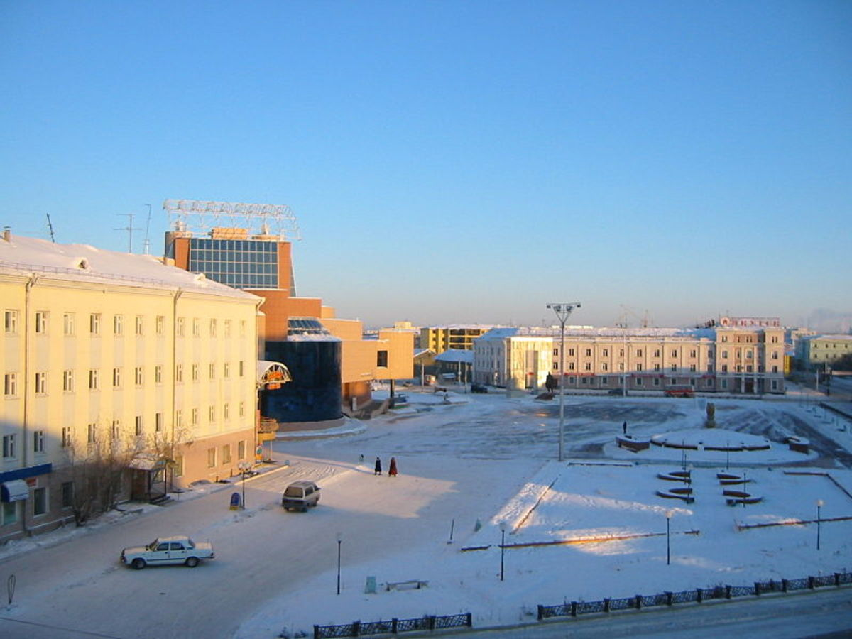 Yakutsk in Russia is the coldest city in the world