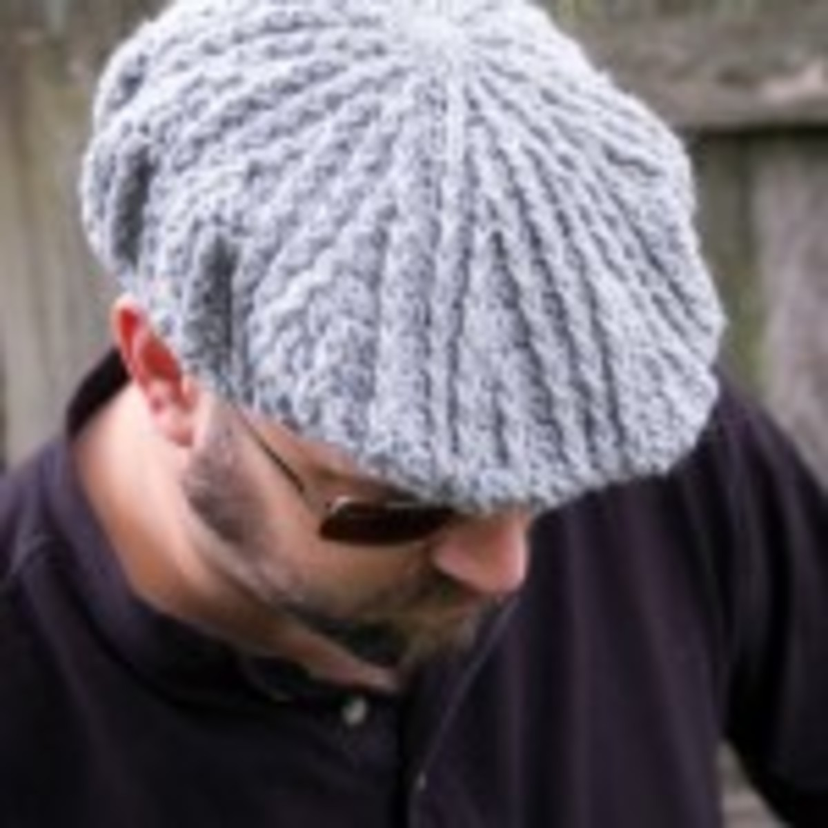Men's Cabled Golf Hat